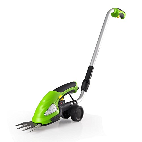 SereneLife Upgraded Hedge Trimmer Shears - Cordless Electric V2