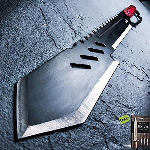 """26"""" HUNTING SURVIVAL Tanto Military FULL TANG MACHETE Fixed Blade Knife"""