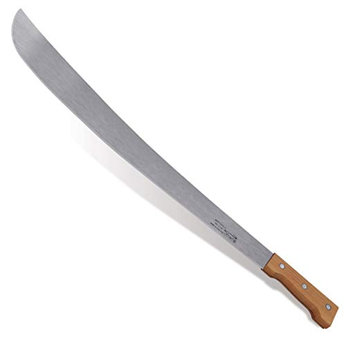 """Lo Ink Specialties 28"""" Martindale Machete Wood Handle Lo Ink Specialties 28"""" Martindale Machete Wood Handle, with Leather Sheath."""