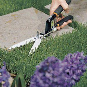 Fiskars n/aa Power-Level Hand Grass Shears,Black/Orange