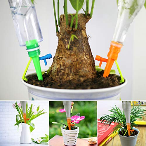 Plant Self Watering Spikes Devices with Adjustable Slow Release