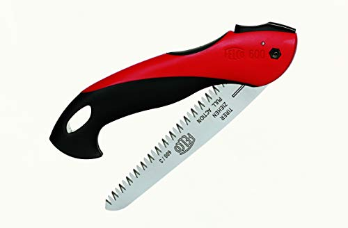 Felco Classic Folding Saw with Pull-Stroke Action, Red