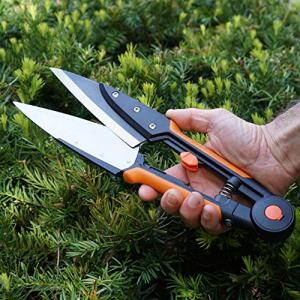 Kings County Tools Grass and Topiary Shears Kings County Tools Grass and Topiary Shears with Spring Blade.