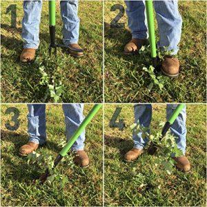 EasyGoProducts Weedinator Standing Pulling Tool-Weeding EasyGoProducts EGP-GARD-018-1 Weedinator Standing Pulling Tool-Weeding.