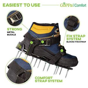 GoPPa Lawn Aerator Shoes - Easiest to USE Lawn Aerator Sandal p>Your finest resolution!!!