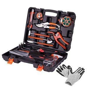 KORAM 13-Piece Garden Tools Kit Plant Care Tool Home Improvement Tool Sets