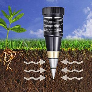Göksu Soil pH & Moisture Meter Gardening Monitor Tool Test Kits for Plant Care pH and moisture play vital roles within the manufacturing of high quality crops. If the soil is simply too acidic or fundamental, crops is not going to survive. This device might be a key help to attain optimally wholesome plant progress.