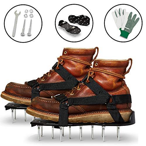 Lawn Aerator Shoes - Garden/Yard/Grass/Fertilizer/Tools