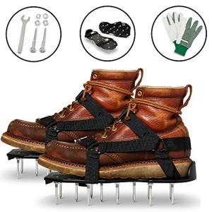 Lawn Aerator Shoes - Garden/Yard/Grass/Fertilizer/Tools