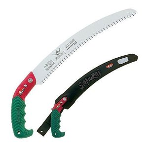"Samurai Ichiban 13"" Curved Pruning Saw with Scabbard"