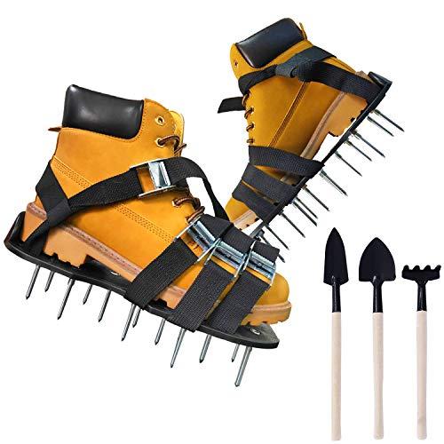 Oiuros Lawn Aerator Shoes, Easiest to USE Lawn Aerator Sandal