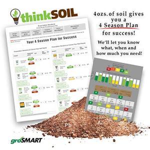 groSMART thinkSOIL - Landscape Soil Test Kit - Receive Analysis Results