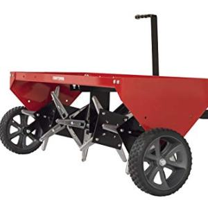 Craftsman 40 Tow Plug Aerator, Red