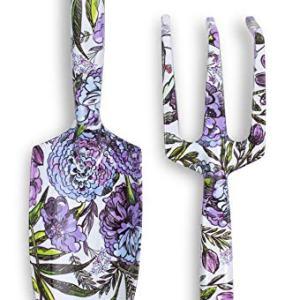 Vera Bradley Women's Garden Tool Set with Hand Rake and Trowel