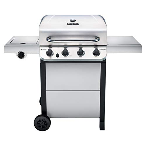 Char-Broil Performance Stainless Steel 4-Burner Cart Style Gas Grill