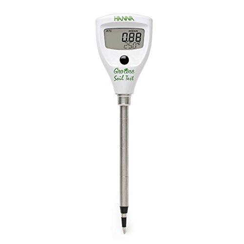 Hanna Instruments Soil Test Direct Soil EC Tester, 0.0 to 50.0 Degree