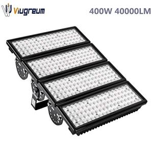 Viugreum 400W LED Flood Lights Outdoor, 40000 Lumen Daylight White