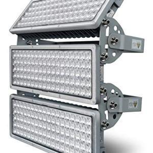 GDIDEA 300W LED Flood Light Outdoor, 6500K White Light