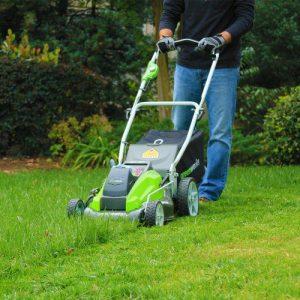 Greenworks 19-Inch 40V Cordless Lawn Mower Greenworks 19-Inch 40V Cordless Lawn Mower, 4.0 AH & 2.0 AH Batteries Included 25223.