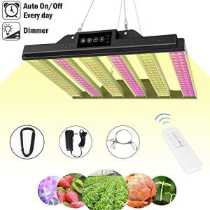 1000W LED Grow Light, Dimmable Plant Light Panel with Auto ON/Off Timer