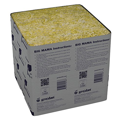 Grodan Wholesale Case GRO-Blocks Plant Containers, Big Mama