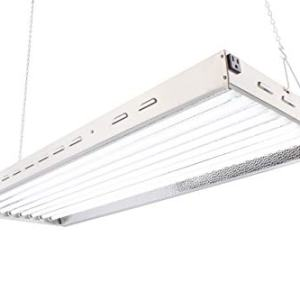 Durolux T5 Florescent 4 Foot 8 Lamps with 6500K and 40000 Lumen Grow Light