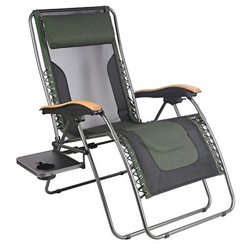 PORTAL Oversized Mesh Back Zero Gravity Recliner Chairs, XL Padded Seat