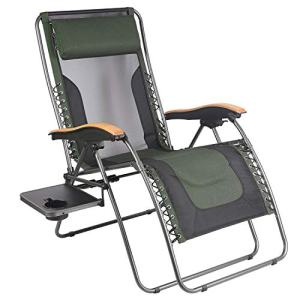 PORTAL Oversized Mesh Back Zero Gravity Recliner Chairs, XL Padded Seat