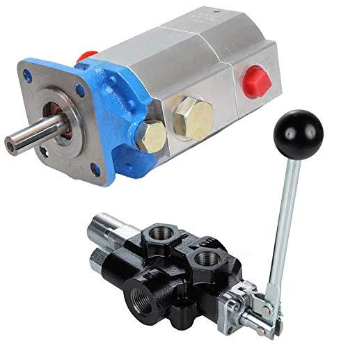 RuggedMade 11 GPM 2 Stage Hydraulic Log Splitter Pump