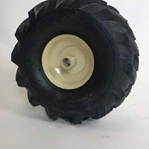 LMTS 11 x 4.00-4 Tractor Tread Tire & Rim - Cub Cadet Tiller Replacement Wheel