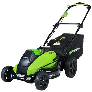 Greenworks 19-Inch 40V Cordless Lawn Mower, Battery Not Included