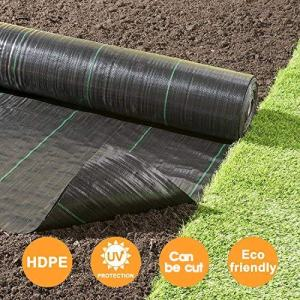 Goasis Lawn Weed Barrier Control Fabric Ground Cover Membrane Garden