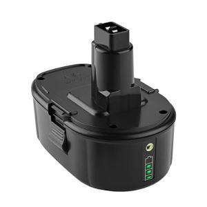 Yabelle Replacement 5.0Ah Lithium Dewalt 18V Battery for Dewalt Battery