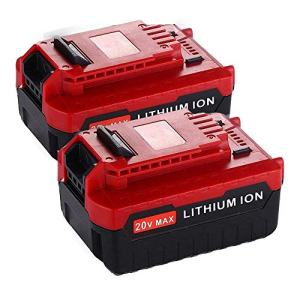Upgraded 2 Pack 6000Ah 20V MAX Lithium Replacement Battery