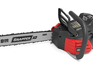 Snapper XD 82V MAX Cordless Electric 18-Inch Chainsaw, Battery and Charger Not Included