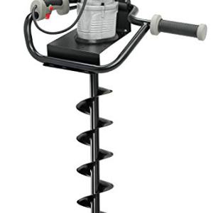 """Hiltex 10525 Electric Earth Auger with 4"""" Bit 1, 200W and 1.6 hp Powerhead"""