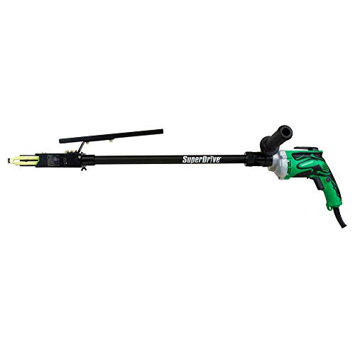 """Metabo HPT SuperDrive Collated Screwdriver, 20"""" Extension, 5/8"""" to 3"""" Screws, 6-#12, Ideal For Decking Installations, Drywall, Sub-Floor, Metal Framing (W6VB3SD2)"""