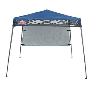 Backyard Champs Backpack 36' 7'x7' Instant Canopy: Midnight Blue Top, Gray Frame