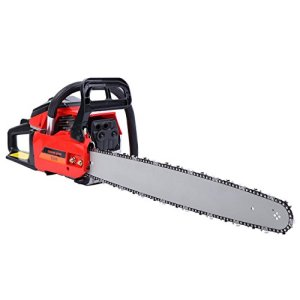 "9TRADING 22"" Bar Gas Powered Chainsaw Chain Saw 52cc Wood Cutting Aluminum Crankcase,Free Tax,Delivered Within 10 Days"
