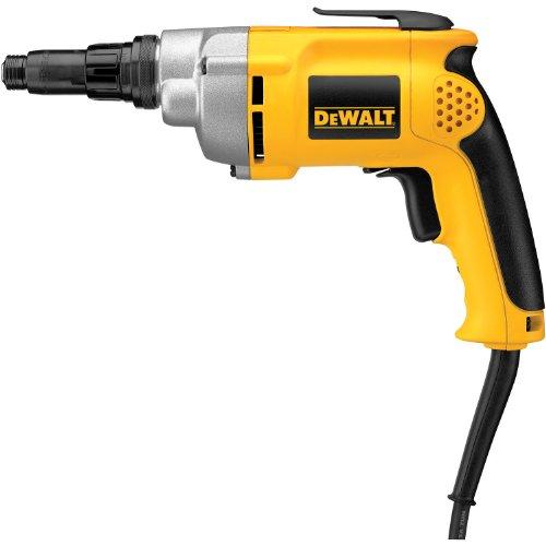 DEWALT Drywall Screw Gun, Variable Speed Reversible, 6.5-Amp (DW267)