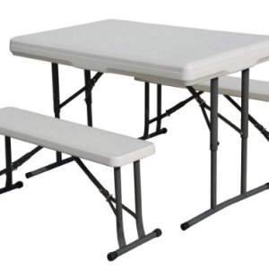 Stansport Heavy Duty Picnic Table and Bench Set