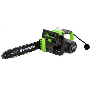 Greenworks 20222 Electric Chainsaw, 14-Inch
