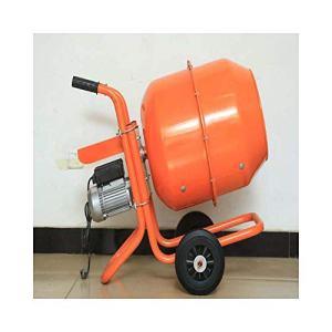 INTBUYING Electric Cement Mixer 140 Litre 5Cu Ft Portable Concrete Mortar Machine 110V