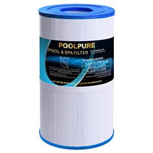 POOLPURE Spa Filter Replaces Pleatco PRB35-IN, Unicel C-4335, Guardian 409-219, Filbur FC-2385, 03FIL1300, 17-2482, 25393, 303557, 817-3501, R173431, 35 sq.ft, 5 X 9 Drop in Hot Tub Filter, 1 Pack