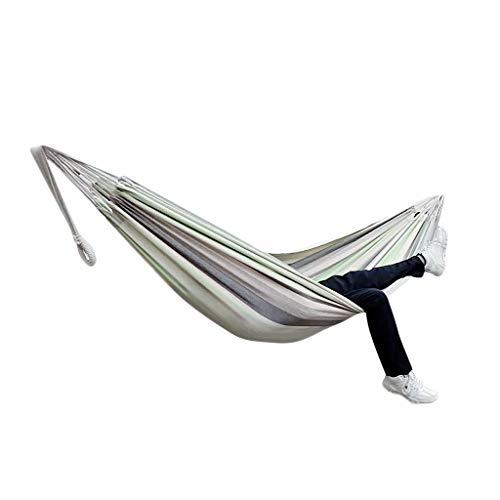 SSDXY Double Hammock with Steel Stand Two Person Adjustable Hammock Bed - Storage Carrying Case Included