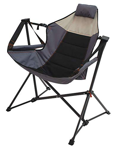 Rio Gear Outdoor Foldable Hammock Lounger - Putty/Slate