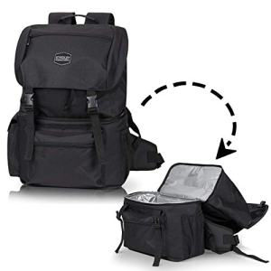Kyndley Insulated Backpack Cooler. Lightweight Durable Leak Proof Cooler Bag for Hiking, Travel