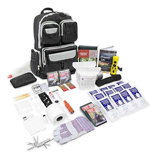 Emergency Zone Deluxe 2 Person Urban Survival Kit - Black