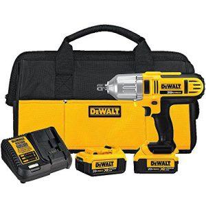 DEWALT 20V MAX Impact Wrench Kit, High Torque, Detent Pin Anvil, 1/2-Inch (DCF889M2)