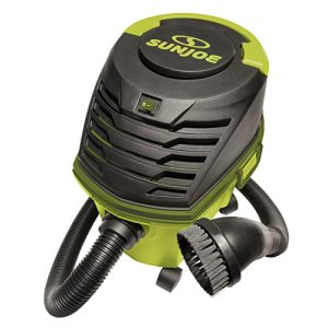 Sun Joe SWD2500 3.5 HP 2.6 Gallon Ultra-Portable Wheeled Wet/Dry Vacuum w/Accessories and Extensions, Green
